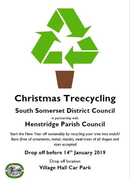 FREE Christmas Treecycling